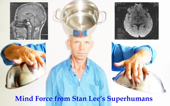 Albert Einstein brain Superhuman Magnetic Man Mind Force Stan Lee Marvel